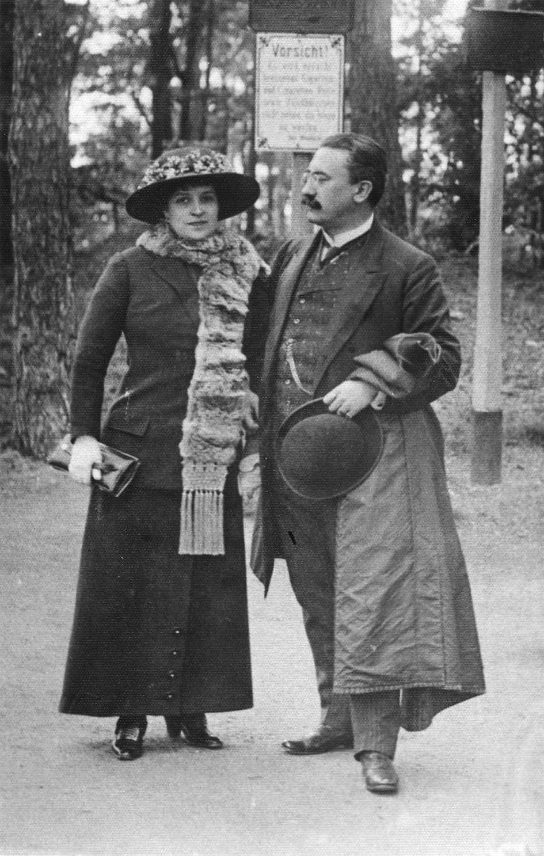 • Vaida si soţia la Karlsbad